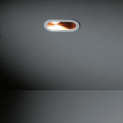 Duell recessed 1x LED GE foto