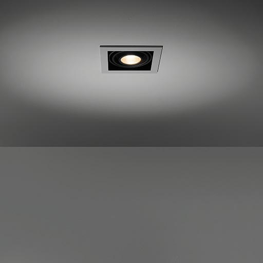 Mini multiple for 1x LED GE foto