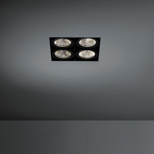 Mini multiple trimless for Smart rings 4x LED GE foto
