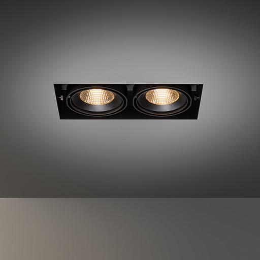 Multiple trimless for 2x LED GE foto