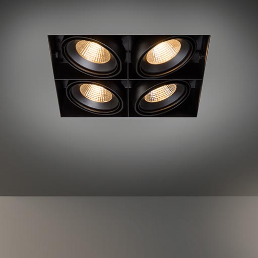 Multiple trimless for 4x LED GE foto